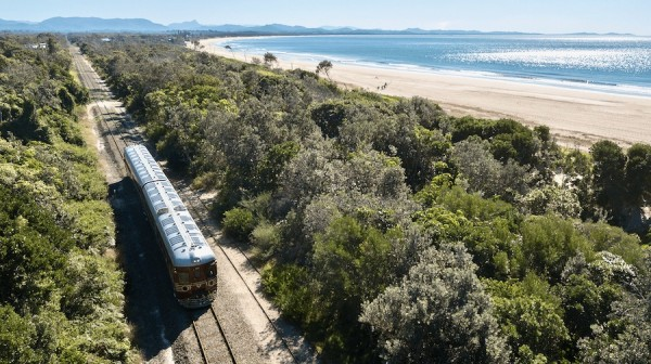 Byron solar train